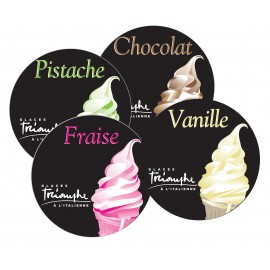 Flavor Labels Triomphe