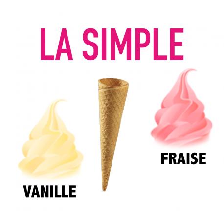 Formule Simple Vanille Fraise