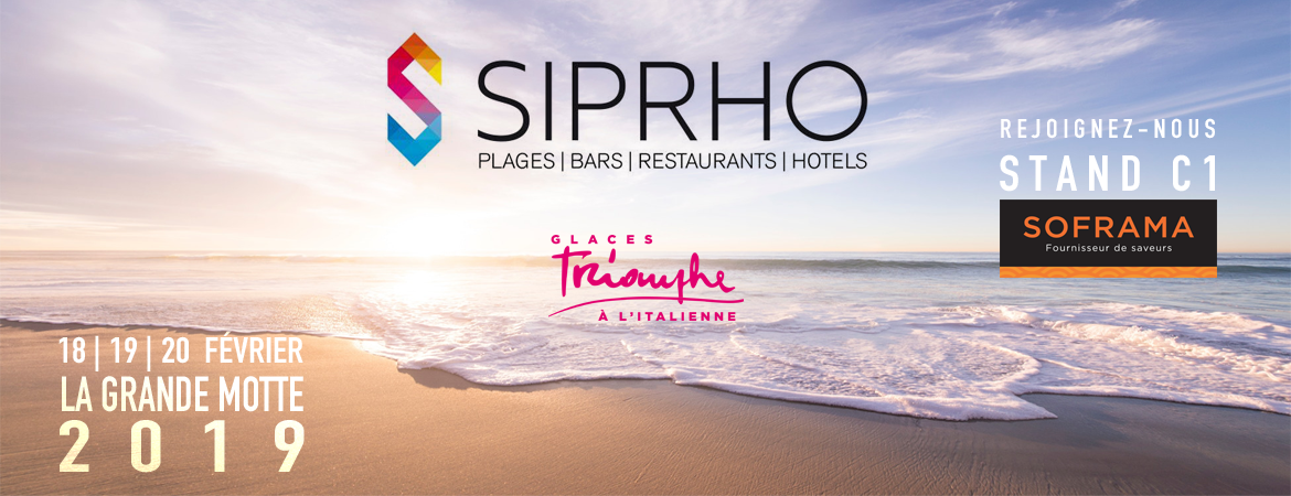 SIPRHO 2019 SALON DES PLAGES TRIOMPHE SOFRAMA